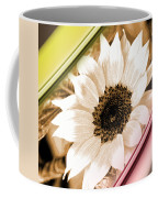 Sunflower Rail Coffee Mug
