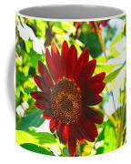 Sunflower - Red Blazer - Luther Fine  Art Coffee Mug