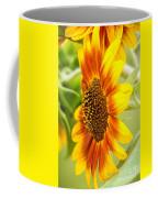 Sunflower Side Portrait Coffee Mug