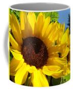 Sunflower Summer Garden Art Prints Coffee Mug