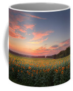 Sunflower Sunset Coffee Mug by Bill Wakeley