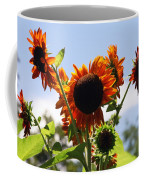 Sunflower Symphony Coffee Mug by Karen Wiles