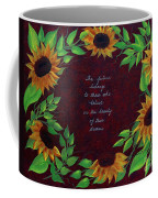 Sunflowers And Dreams Coffee Mug