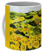 Sunflowers And Sunshine Coffee Mug