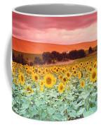 Sunflowers, Corbada, Spain Coffee Mug