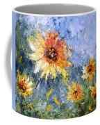 Sunflowers In Bloom Coffee Mug