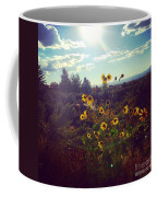 Sunflowers In Sun Light Coffee Mug