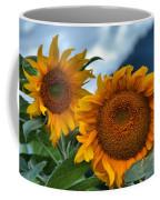 Sunflowers In The Wind Coffee Mug