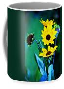 Sunflowers Portrait Coffee Mug