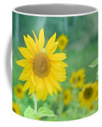 Sunflowers Vintage Dreams Coffee Mug