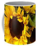 Sunflowers Wide Coffee Mug