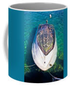 Sunken Motor Boat After Storm Coffee Mug