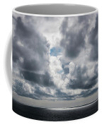 Sunlight Breaks Through The Clouds Coffee Mug