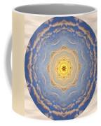 Sunlight Cloud Waves Mandala Coffee Mug