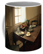 Sunlight On Dining Table Coffee Mug