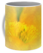 Sunlight On Poppy Abstract Coffee Mug