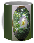 Sunlight On The Wild Pink Rose Coffee Mug