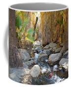 Sunlight Over Rocky Andreas Creek In Indian Canyons-ca Coffee Mug