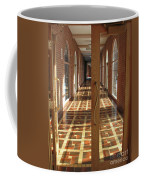 Sunlit Corridor Coffee Mug