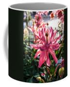 Sunlit Fancy Pink Columbine Coffee Mug