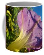 Sunlit Morning Glory Coffee Mug