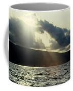 Sunlit Rays Before Sunset Coffee Mug