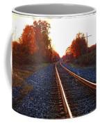 Sunlit Tracks Coffee Mug