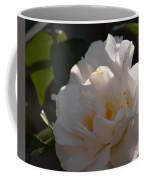 Sunlit White Camelia 2013 Coffee Mug