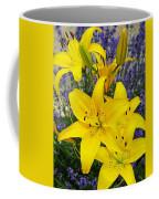 Sunny Asiatics With Lavender Coffee Mug
