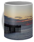 Sunny Isles Fishing Pier Sunrise Coffee Mug
