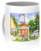 Sunny Morning On The City Square Coffee Mug