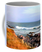 Sunny Ocean Shoreline Coffee Mug