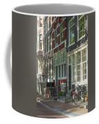 Sunny Street In Amsterdam Coffee Mug