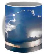 Sunny Waterfall Over The Bay Filtered Coffee Mug