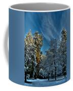Sunny Winter Day Coffee Mug
