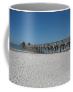 Sunny Day At Naples Pier Coffee Mug