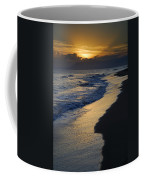 Sunrays Over The Sea Coffee Mug by Guido Montanes Castillo
