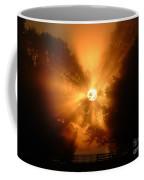 Sunrays Sunrise On Lake Oconee Coffee Mug