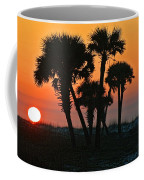Sunrise And Group Of Palm Trees Coffee Mug