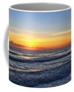 Sunrise And Waves Coffee Mug