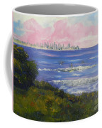 Sunrise At Burliegh Heads Coffee Mug