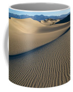 Sunrise At Mesquite Flat Sand Dunes Coffee Mug