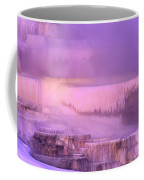 Sunrise At Minerva Springs Yellowstone National Park Coffee Mug