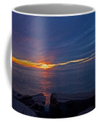 Sunrise At Otter Cliffs Coffee Mug