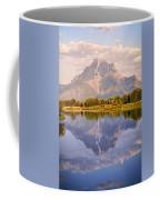 Sunrise At Oxbow Bend 2 Coffee Mug