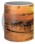 Sunrise At The Fishing Village Coffee Mug