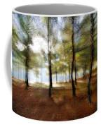 Sunrise At The Magic Forest Coffee Mug