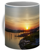 Sunrise At Two Mile Inlet - Wildwood Crest Coffee Mug