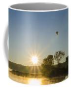 Sunrise Balloon Ride Over Lake Nockamixon Coffee Mug