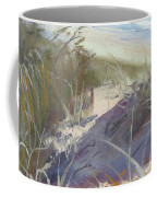 Sunrise Beach Dunes Sunshine Coast Qld Australia Coffee Mug